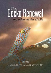 Gecko on Bookcover