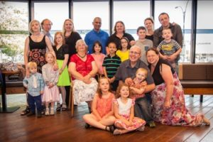 June with children and grandchildren